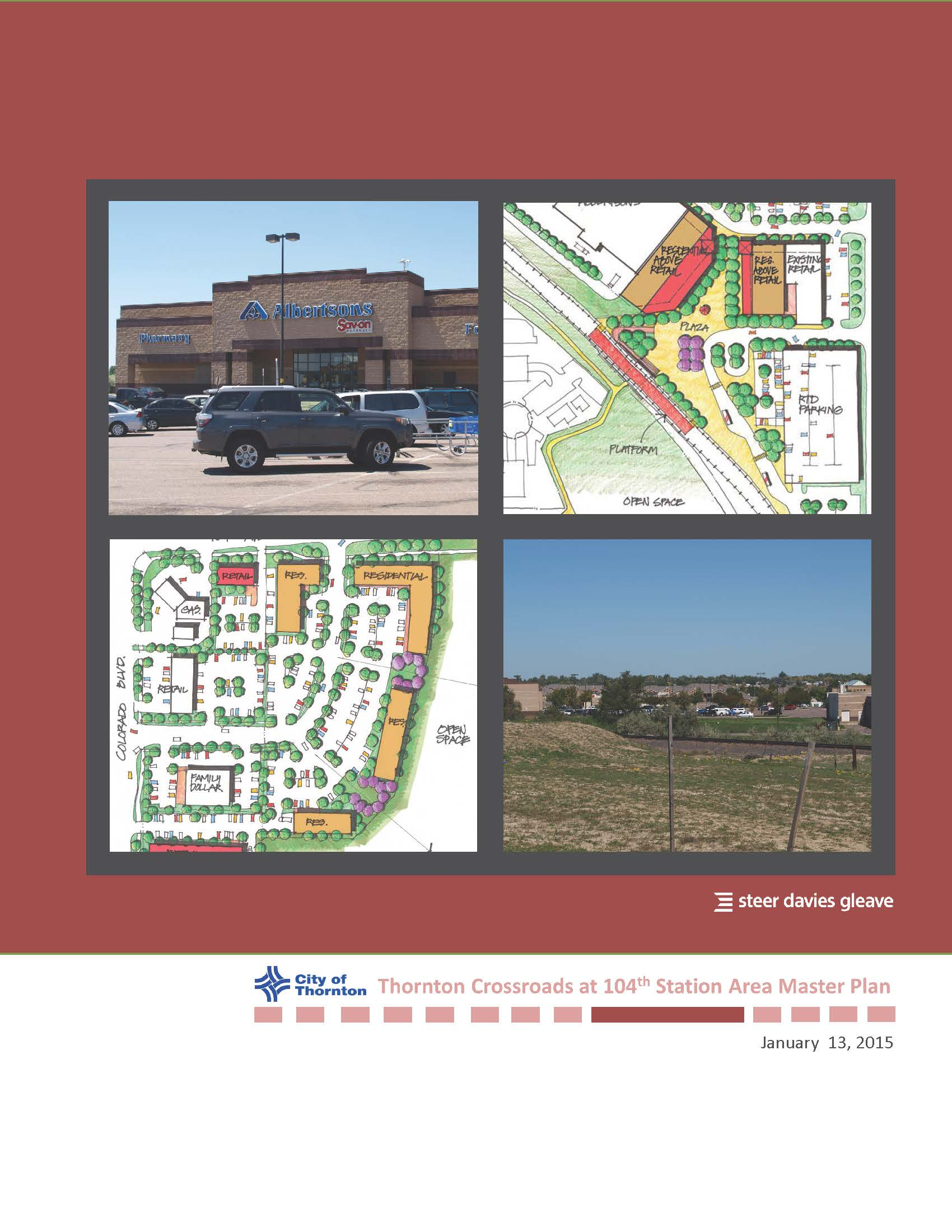 Thornton Crossroads at 104th Station Area Master Plan Cover